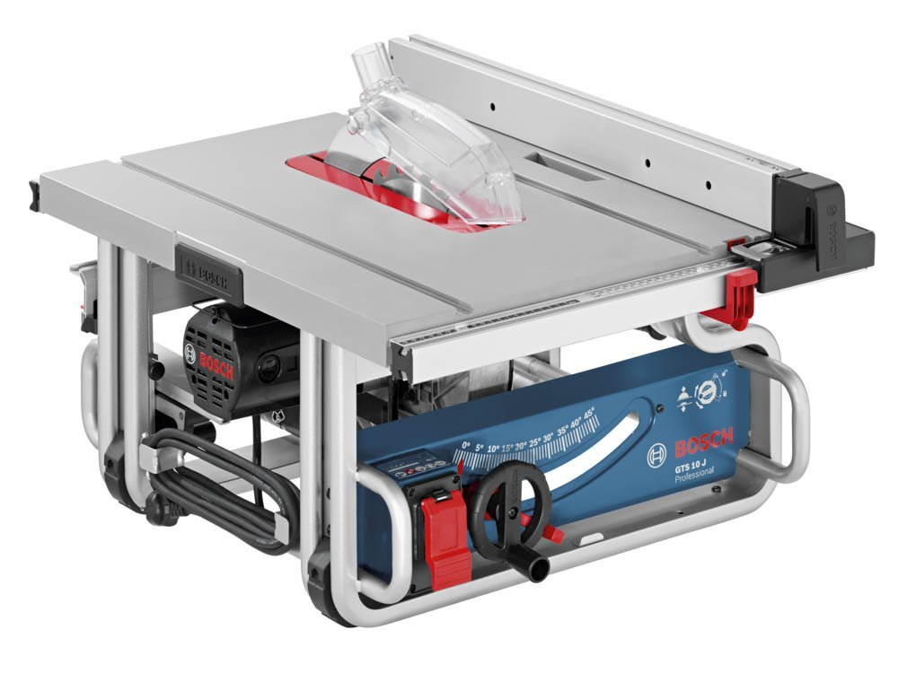 Bosch gts1031 10 inch portable jobsite table saw review Portable table saw reviews