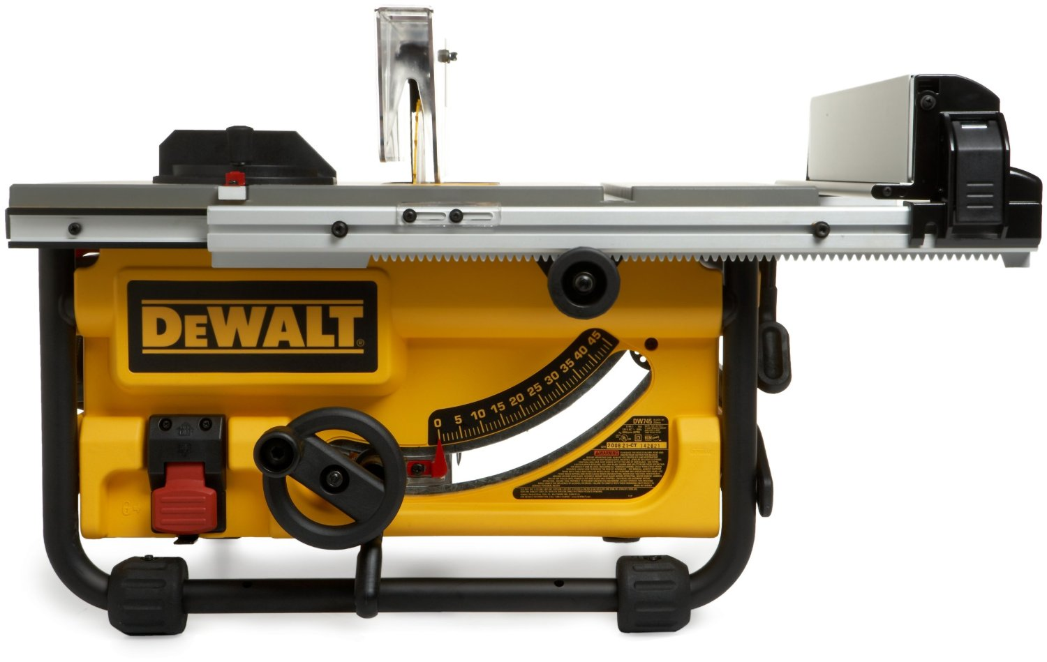 dewalt dw745 10 inch portable table saw review