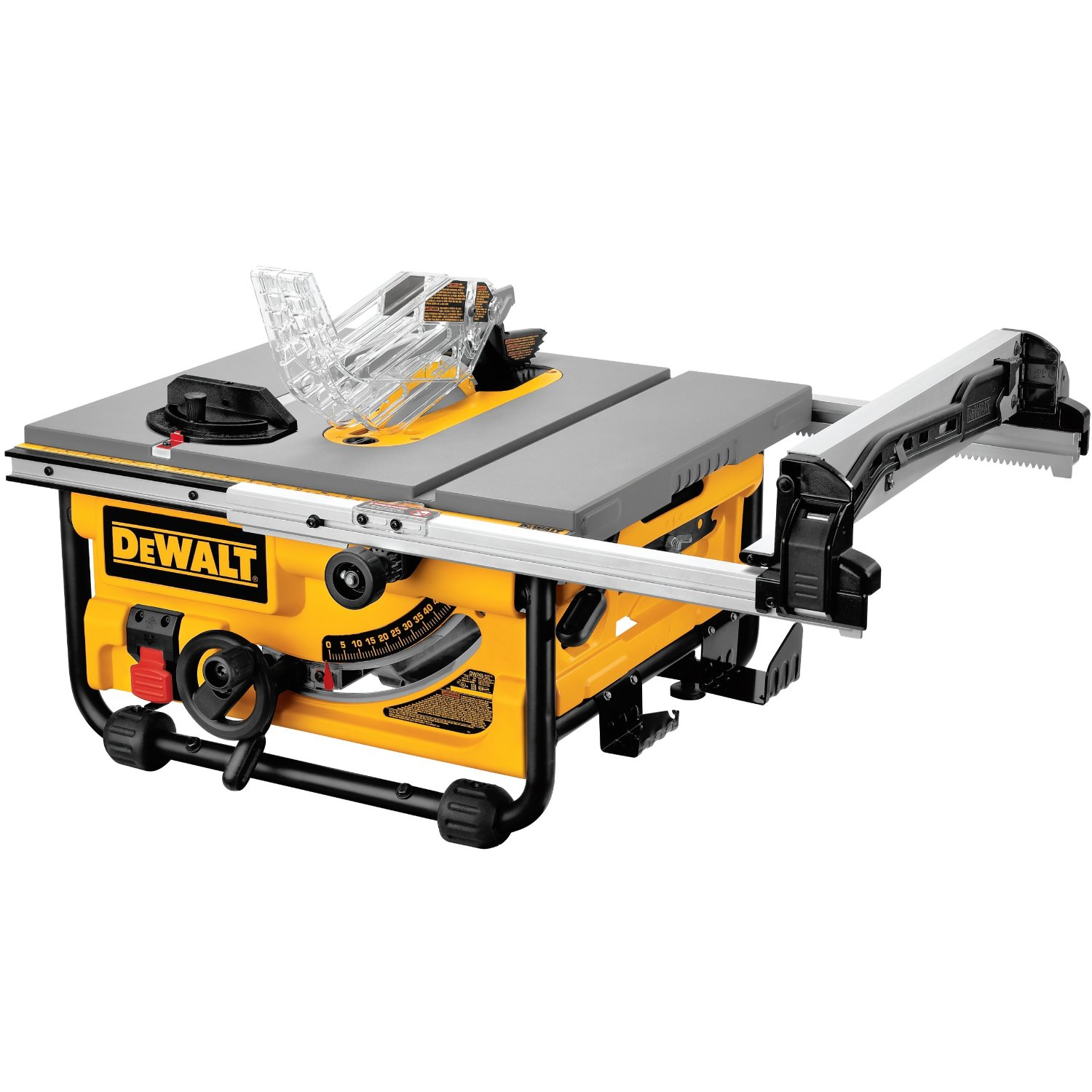 Dewalt dw745 10 inch portable table saw review for 10 portable table saw