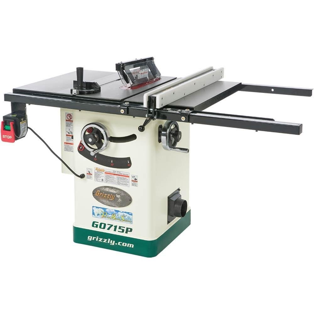 Grizzly g0715p polar bear series hybrid table saw with riving knife grizzly g0715p polar bear series hybrid table saw with riving knife 10 inch review 2017 table saw reviews greentooth Images